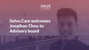 Solve.Care welcomes Jonathan Chou to Advisory Board