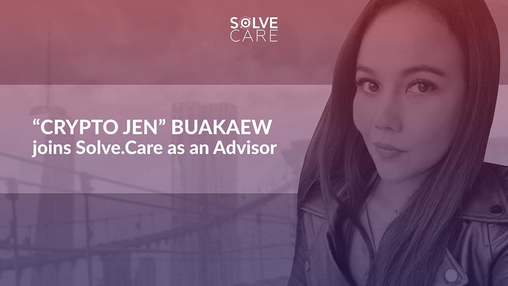 Crypto Jen Buakaew joins Solve.Care as Advisor