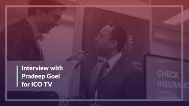 ICO TV interview with Solve.Care CEO Pradeep Goel