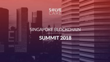 Solve.Care visited Singapore Blockchain Summit 2018