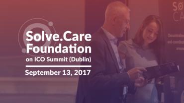 Solve.Care at ICO Summit Dublin 2017