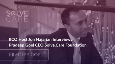 IICO Jon Najarian Interview with Solve.Care CEO Pradeep Goel
