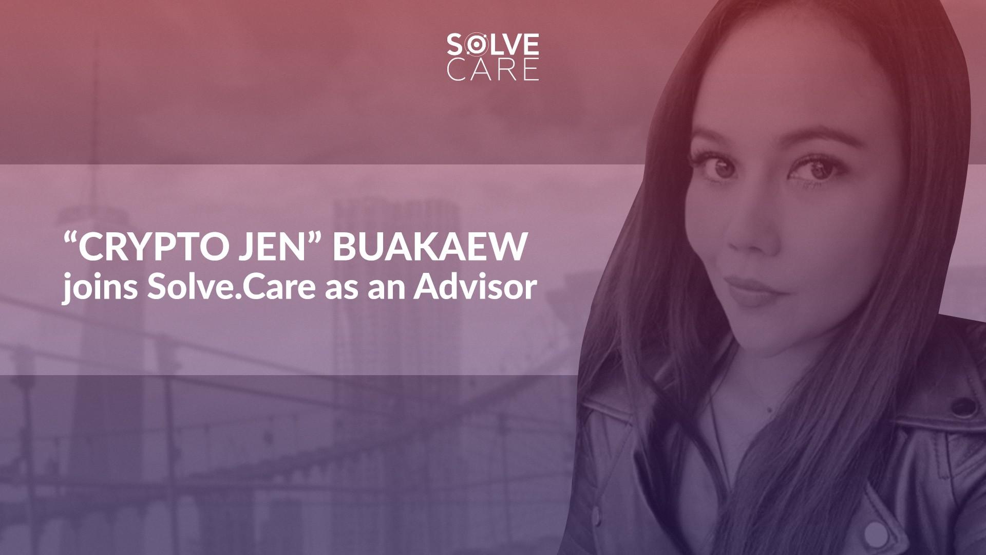 Jen Buakaew joins Solve.Care Advisory Board