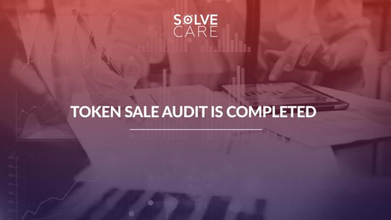 Solve.Care Token sale audit completed
