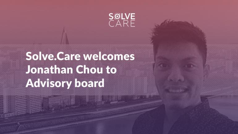 Jonathan Chou joins Solve.Care Advisory Board