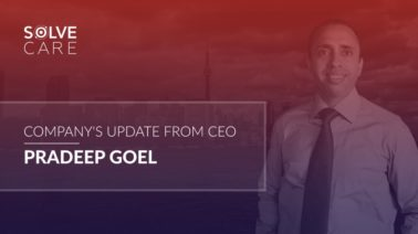 Company Update Solve.Care CEO Pradeep Goel September 2018