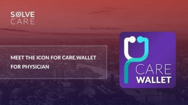 Meet the icon for Care.Wallet for Physician App by Solve.Care